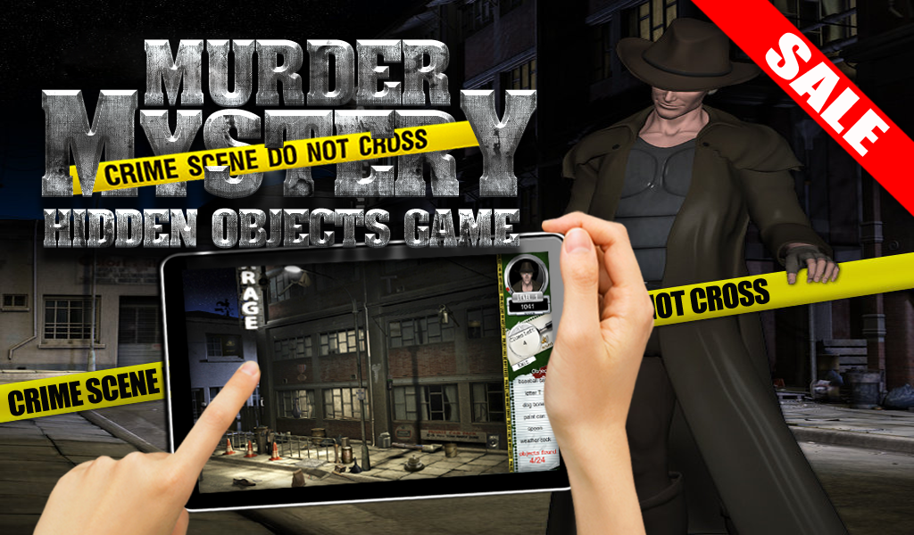 Murder Mystery Hidden Objects- screenshot