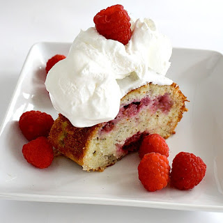 Raspberry Buttermilk Cake.