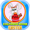 Coloring Book Easter icon