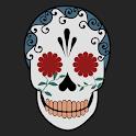 Funky Skull Atom theme icon