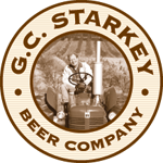 Logo for Starkey's Lookout Beer Company