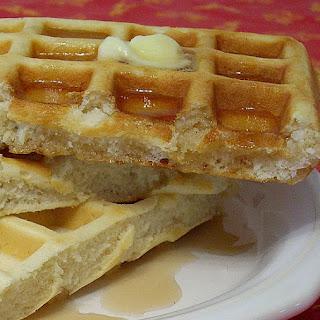 Buttermilk Waffles.