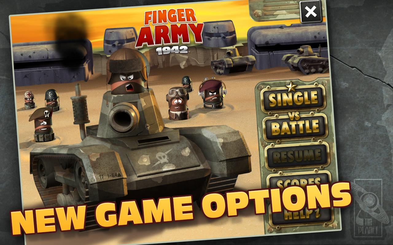 Finger Army 1942 - screenshot
