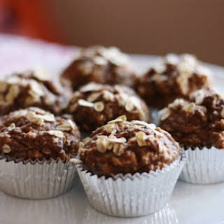 Banana, Oat, and Chia Seed Muffins.