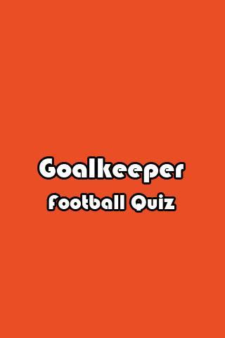 Goalkeeper Football Quiz
