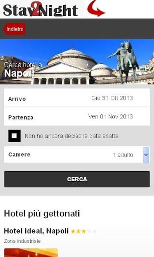 Napoli Hotel finder