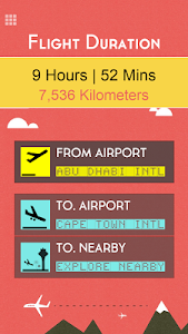 Flight Distance +Airport Codes screenshot 2