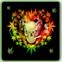 Skull Weed LWP icon
