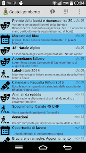 Castelgomberto News!- miniatura screenshot