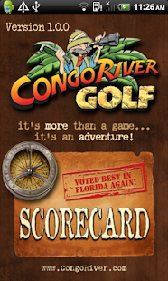Congo River Golf Scorecard App- screenshot thumbnail