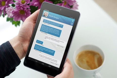 Tablet SMS Messaging Dinamotxt - screenshot thumbnail