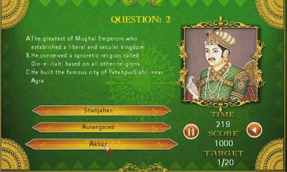 Jodha Akbar Game