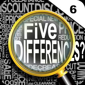 Five Differences? vol.6 LOGO-APP點子