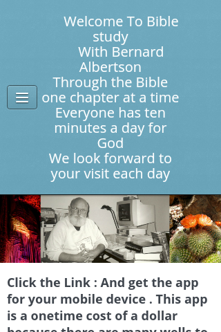 BIBLE STUDY WITH BERNARD - screenshot