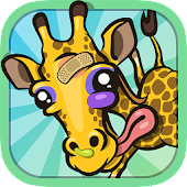 Giraffe Winter Sport Simulator