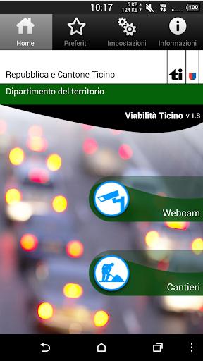 Viabilità Ticino