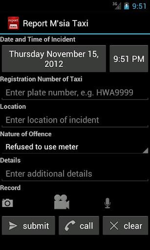 Report Malaysia Taxi