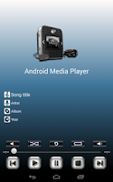 Screenshot of Media Player for Android