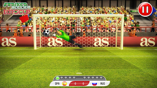Striker Soccer Euro 2012 Pro Android
