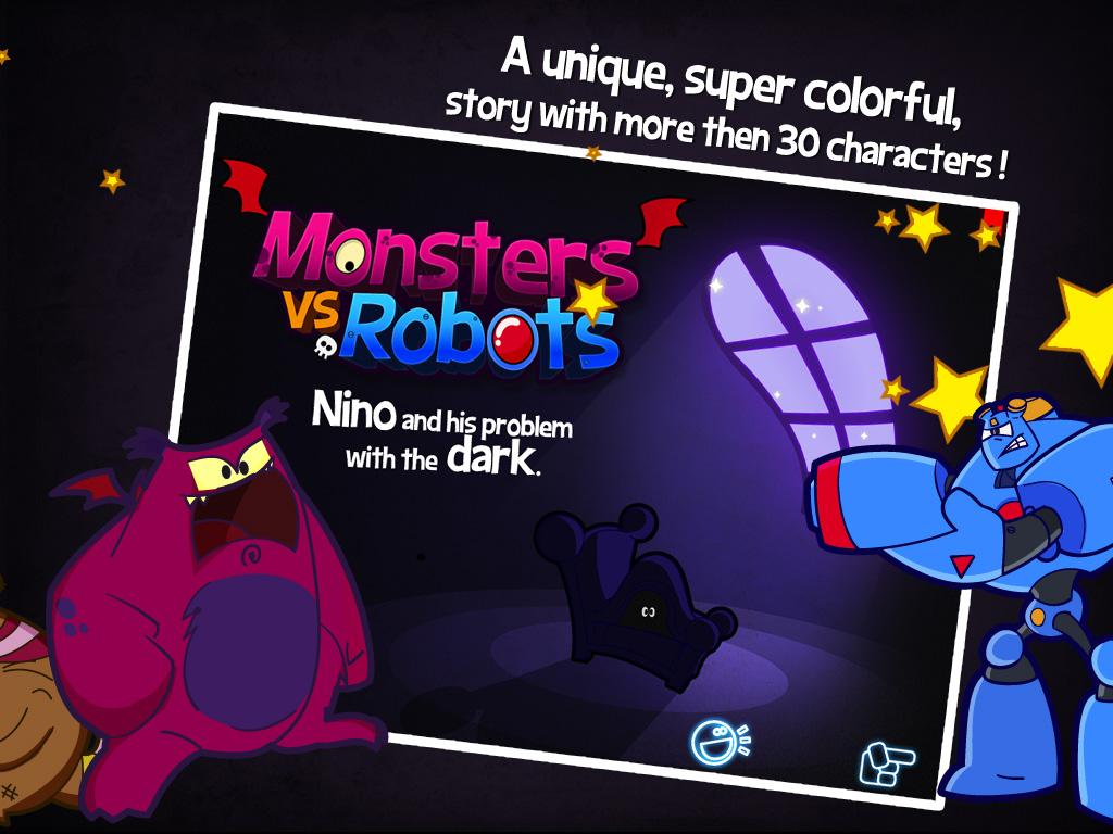 Monsters vs Robots- screenshot
