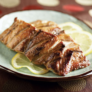 Japanese-Style Grilled Fish