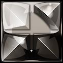 dragon digital clock grey icon