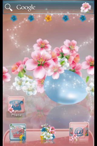 【免費個人化App】ADW Theme Easter Blossom-APP點子