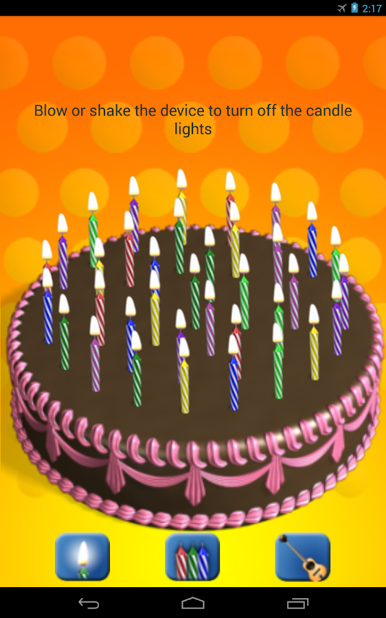 Candle Cake - screenshot