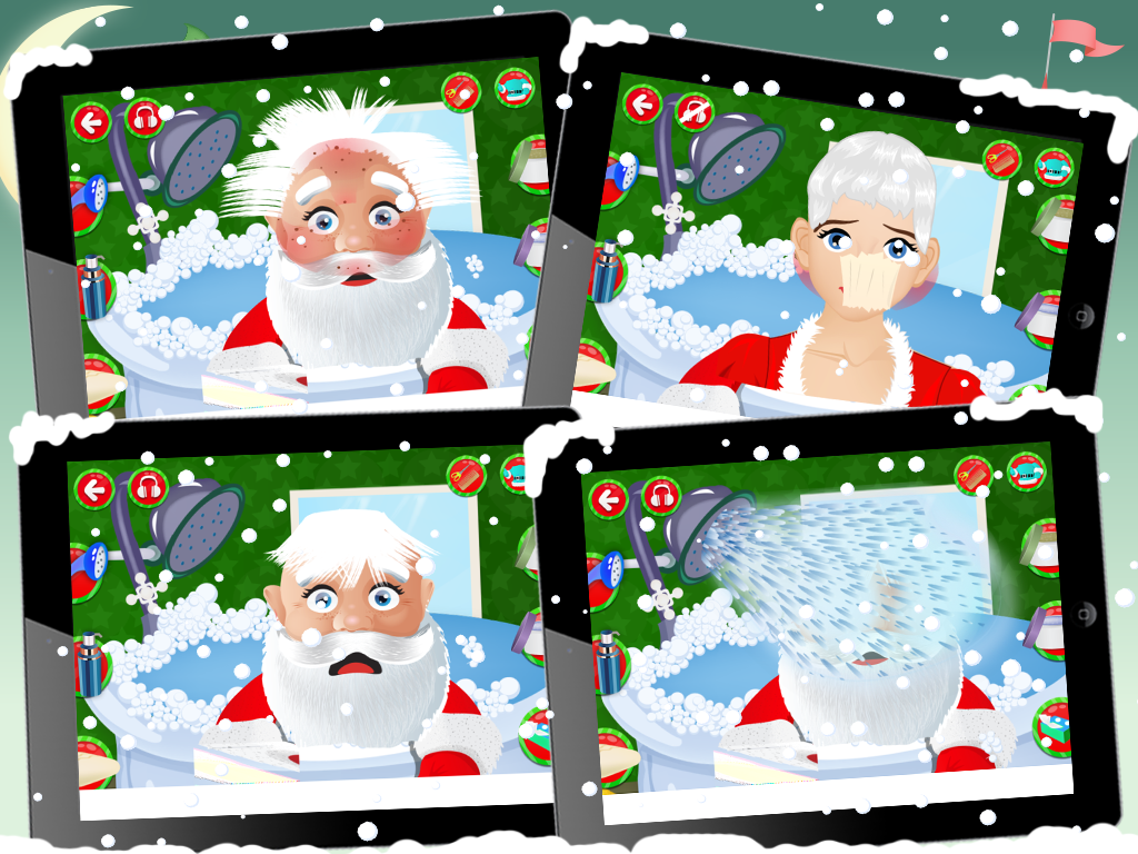 Santa Hair Saloon- screenshot