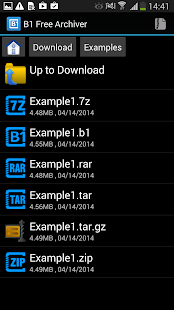 B1 Free Archiver zip rar unzip - screenshot thumbnail