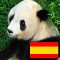 Animals in spanish logo
