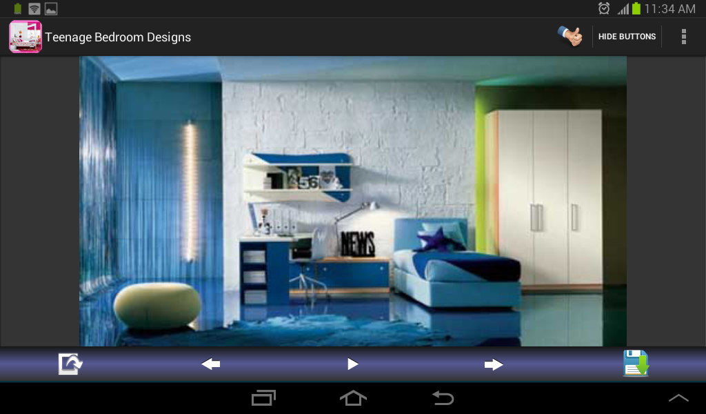 Teenage bedroom designs android apps on google play for Room design app using photos