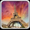 Sunny Paris Live Wallpaper icon