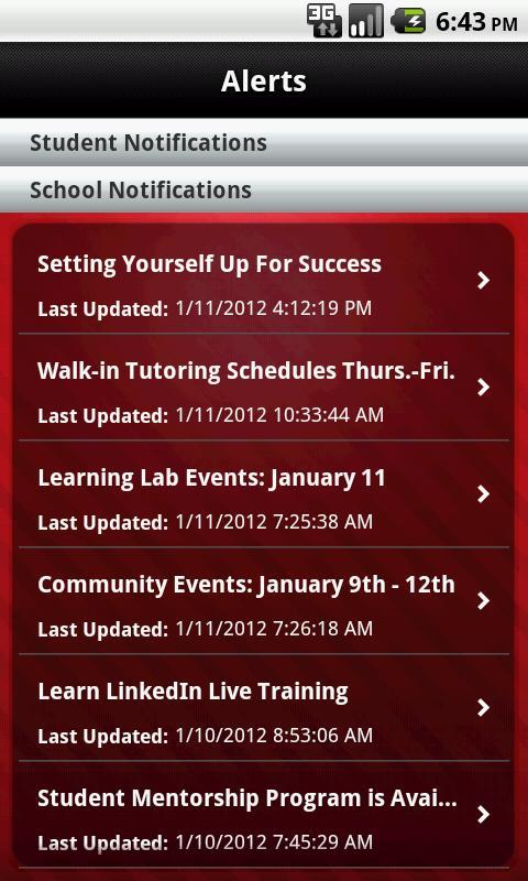 CTU Mobile – Phone - screenshot
