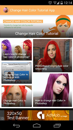 Change Hair Color Tutorial