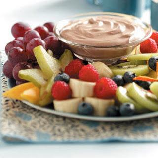 Chocolaty Fruit Dip.