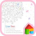 Pastel love tree dodol theme icon