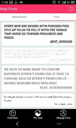 Free Font - Neat