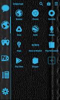 Screenshot of SL Theme Holo Blue Hexagon
