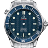 Omega Seamaster Clock 2×2 logo