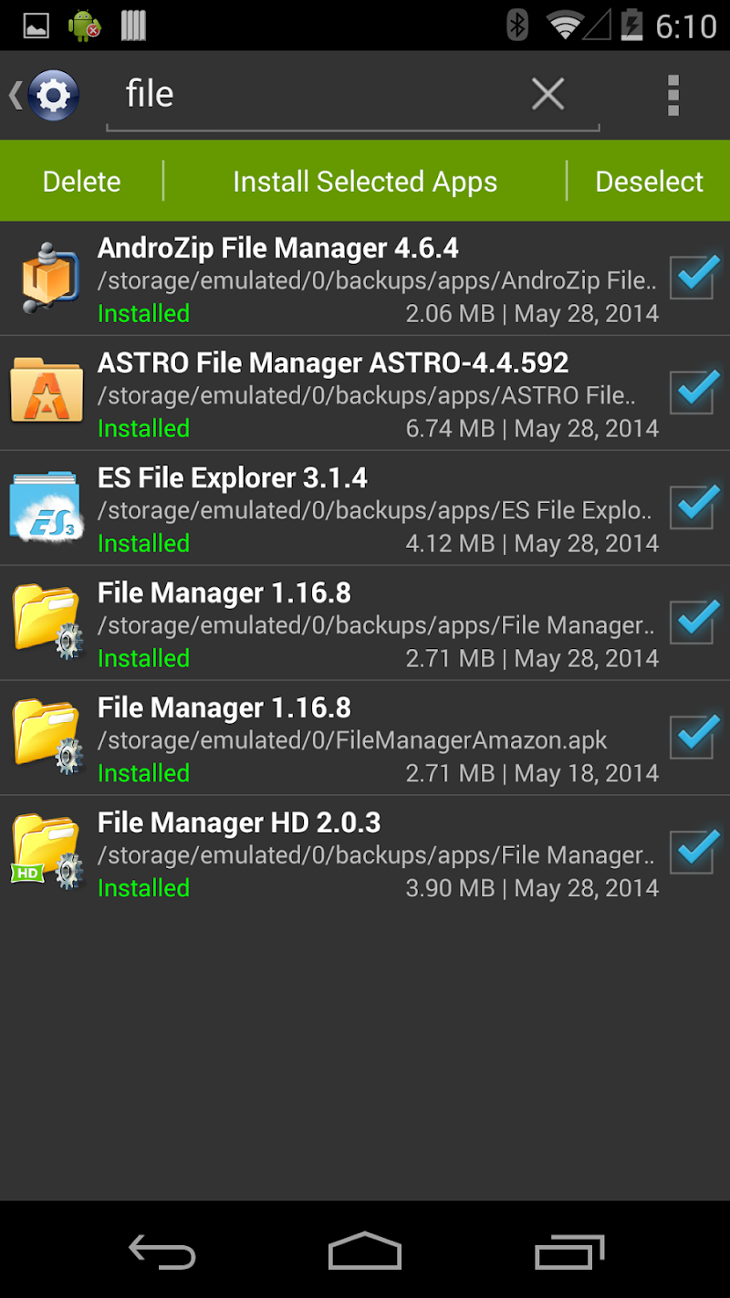 Installer Pro - Install APK Screenshot 4