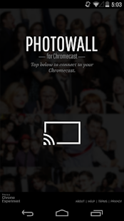 Photowall for Chromecast- screenshot thumbnail
