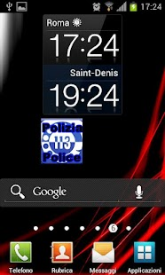 Police Call Widget Italy - screenshot thumbnail