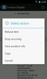 2Checkout Mobile Screenshot 3