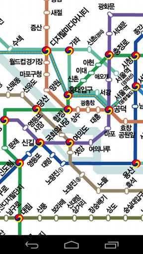 서울 지하철 노선도