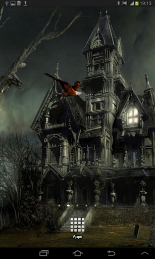 Scary Night Live Wallpaper