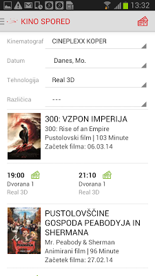 Cineplexx Slovenija - screenshot