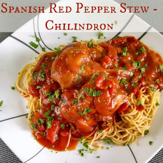 Slow Cooker Spanish Red Pepper Stew (Chilindron).
