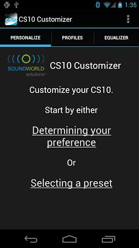 CS10 Customizer