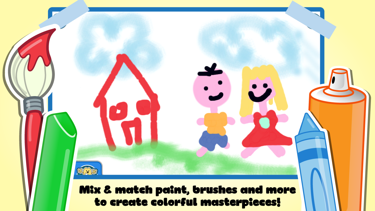 Wubbzy's Animal Coloring Book- screenshot